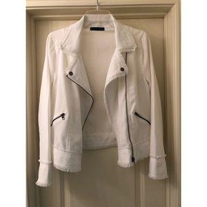 Brooklyn Karma White distressed jacket